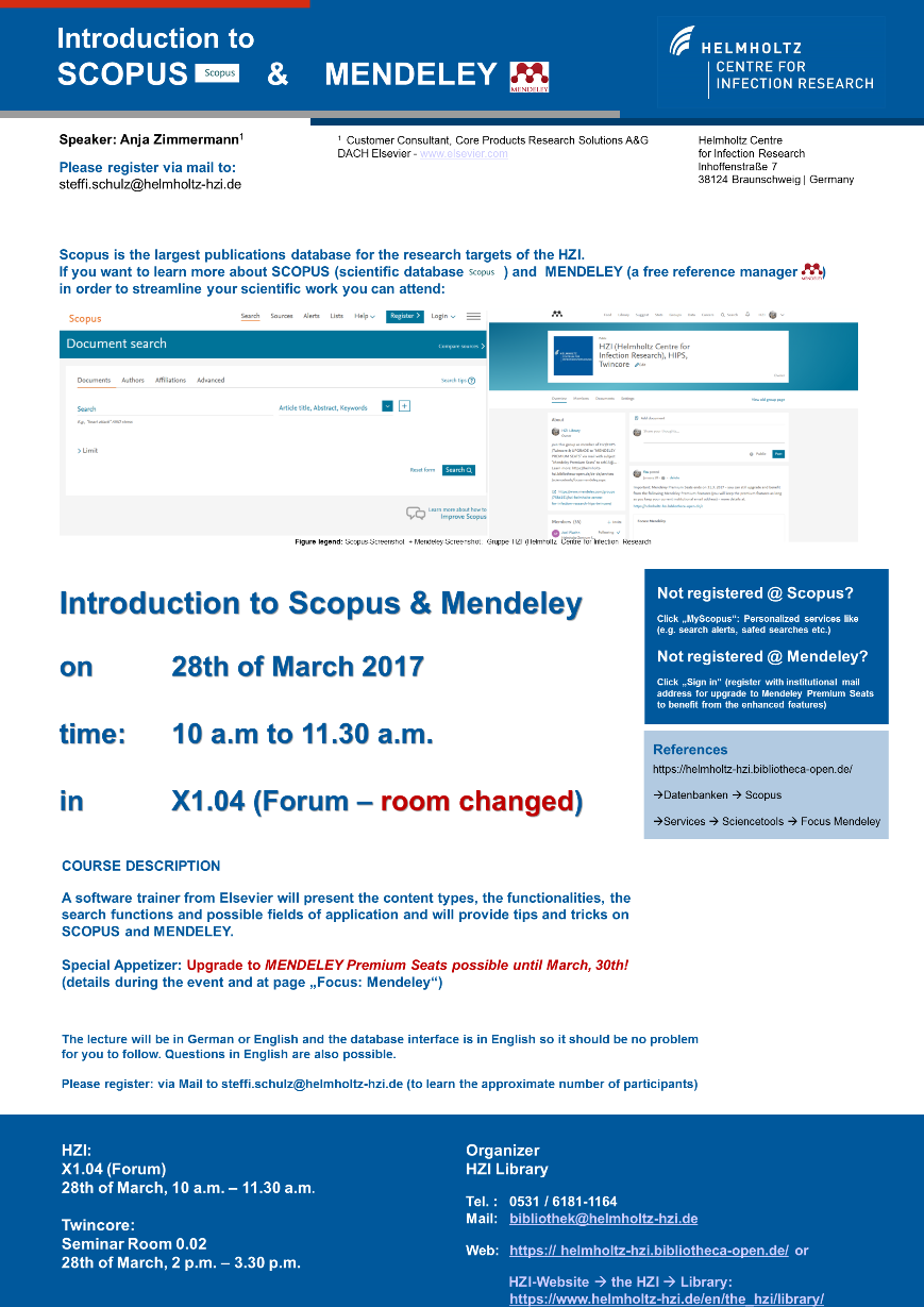 Poster-Announcement Scopus-Mendeley on 28th March 2017